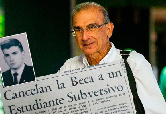 Por 'estudiante subversivo' Humberto De La Calle perdió su beca universitaria