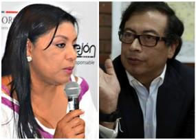 Oneida Pinto replica la fórmula Petro para atornillarse en el cargo