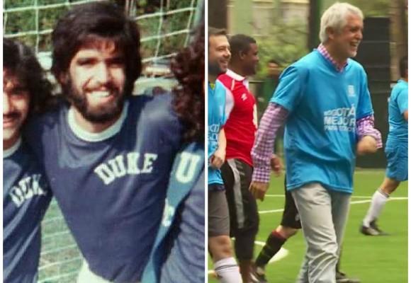 Cuando Peñalosa se ganaba la vida jugando fútbol