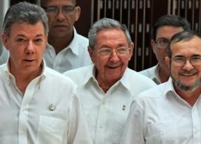 Con Santos en la Casa de Nariño y la canciller en La Habana se logró el cese bilateral del fuego