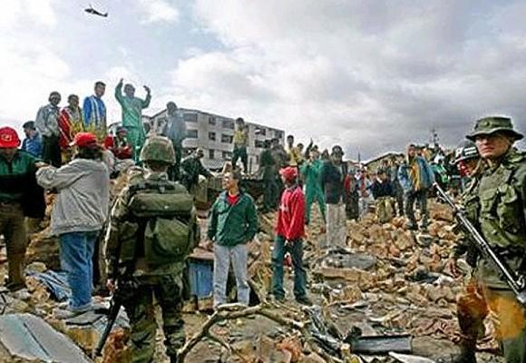 Los indigentes también han sido víctimas de las FARC