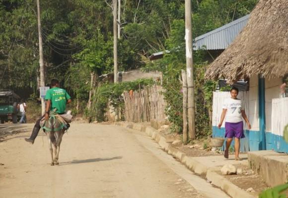 Las calles de un pueblo donde caminaba la violencia