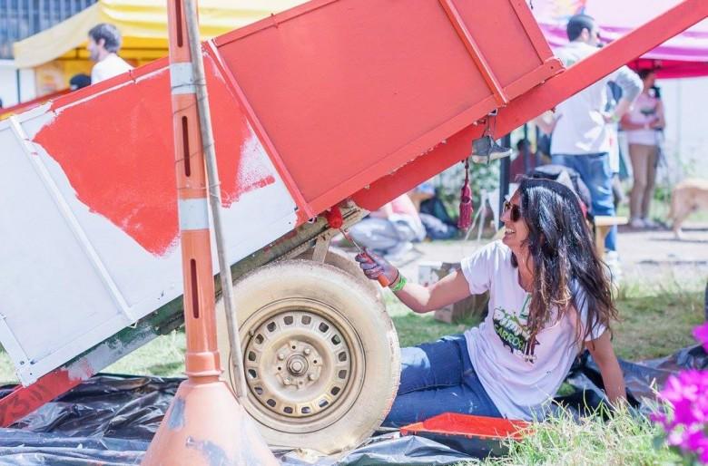 'Pimp my carroza': así se engallan las carretas de los recicladores en Bogotá