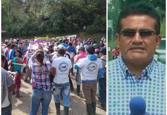 Comunidades aclaran incidente con periodista de Caracol