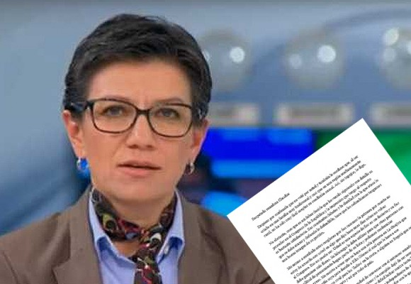 'Senadora Claudia López, por favor no desista del Congreso, Colombia la necesita'