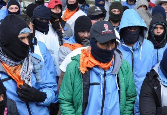 En el paro, con los detenidos de Norte de Santander