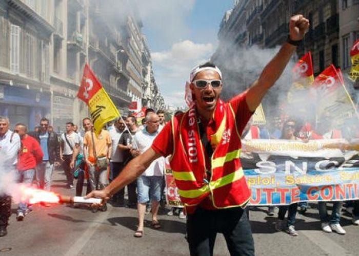 Trabajadores tienen en jaque a la Eurocopa