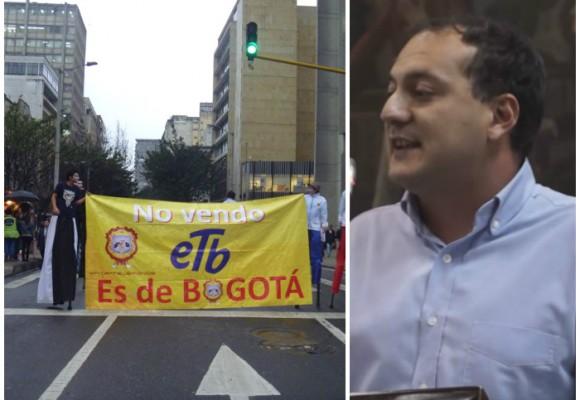 'Bogotá aún puede derrotar la privatización de la ETB': Manuel Sarmiento