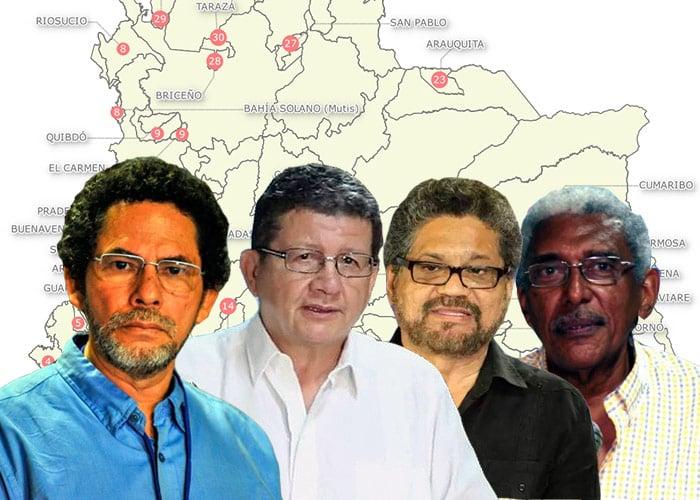 Resultado de imagen para FOTOS DE LAS LAS FARC
