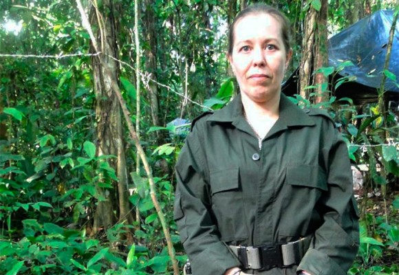 La francesa guerrillera de las Farc que ha combatido en el Chocó