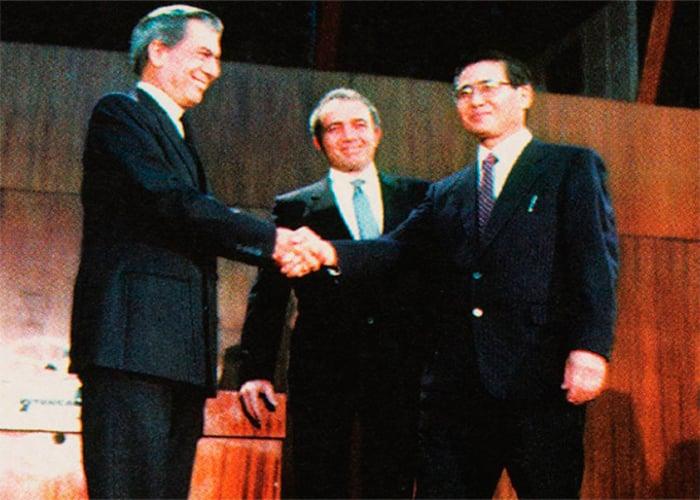Cuando Fujimori destruyó a Mario Vargas Llosa