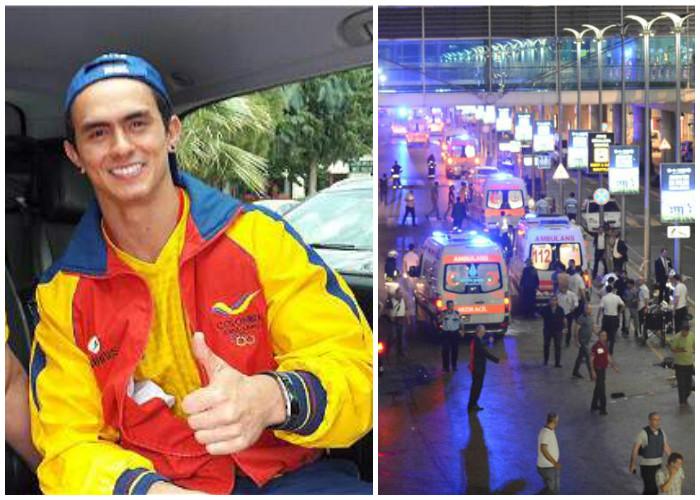 La última prueba de Jossimar Calvo: sobrevivir al atentado de Estambul