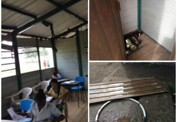 Lamentable estado de colegio en Juradó, Chocó