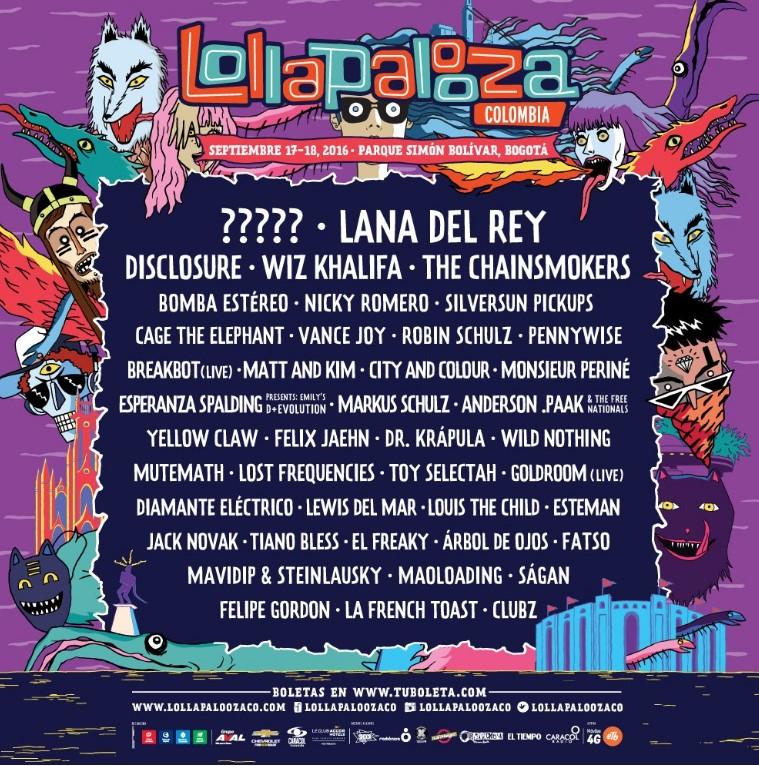Fabuloso Me siento estafado con Lollapalooza Colombia - Las2orillas RU28