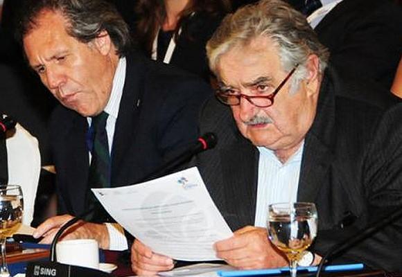 El regaño de Pepe Mujica a su pupilo, Luis Almagro