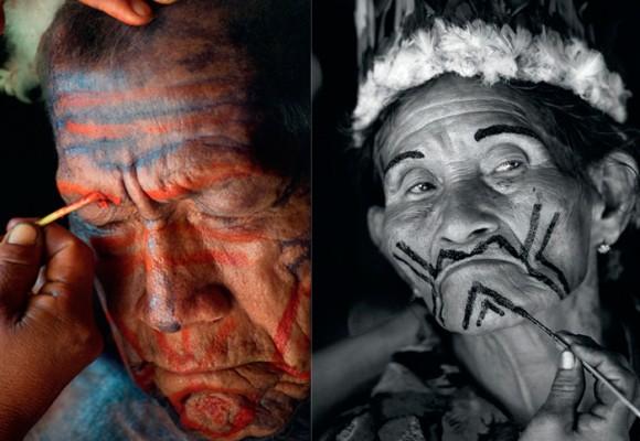 Okaina: hombres y mujeres que convierten su piel en lienzo