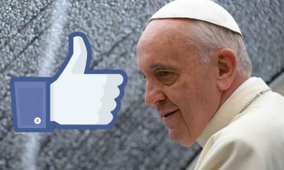 """""""Dejen de ser hipócritas en redes sociales. Dios no usa Facebook"""": El papa Francisco"""