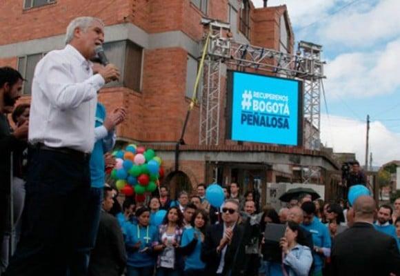 La apuesta de Peñalosa por los barrios humildes del sur de Bogotá