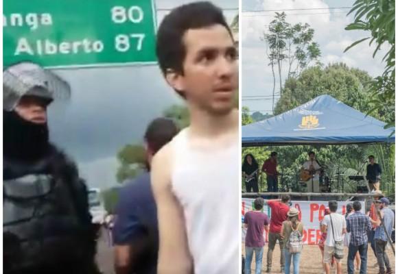 Video: El festival de rock que apoyaba el paro campesino terminó en una pesadilla