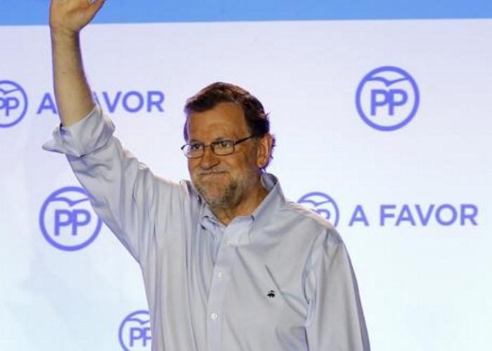 En España gana el Partido Popular pero Rajoy no es aún presidente