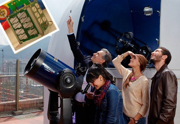La universidad de Bogotá que puso un satélite en el espacio