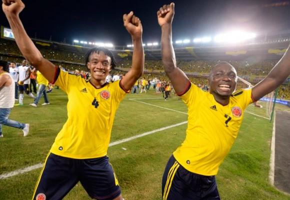 Las celebraciones más ridículas de los jugadores de la Selección Colombia