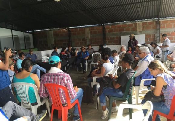 La Cumbre Agraria convoca a Santos al Cauca