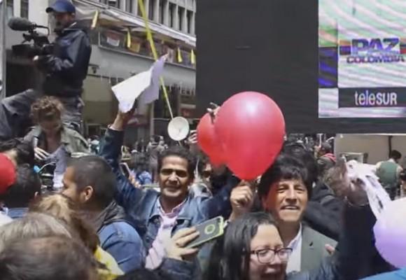 Así se vivió el ultimo día de la guerra en Bogotá