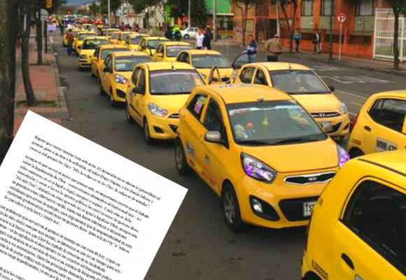 'La culpa la tienen los taxistas, no Uber'