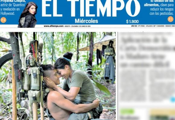 La histórica portada de El Tiempo