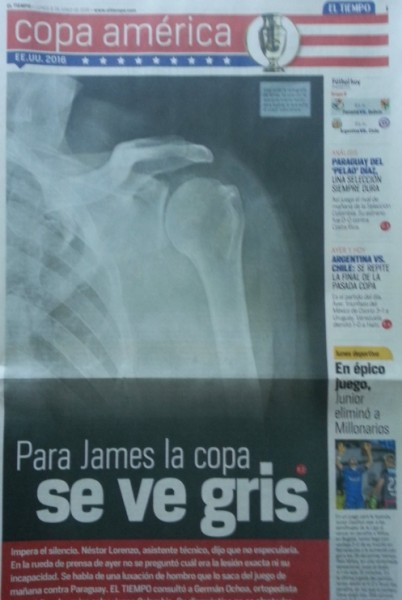 Así titula el cuadernillo de la Copa América. Foto: Gabriel Meluk