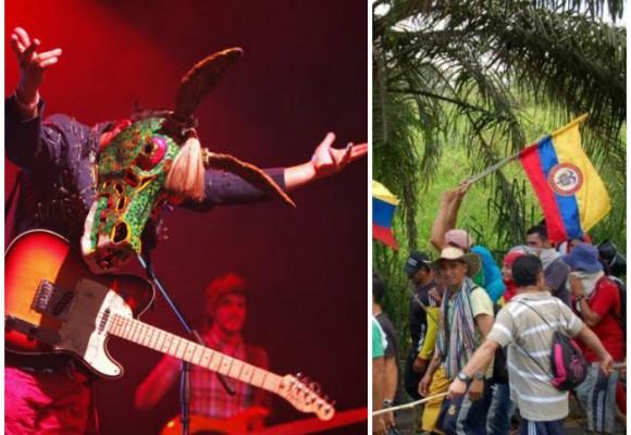 Música Pinga en la Minga: el festival de rock que apoyará al Paro Agrario