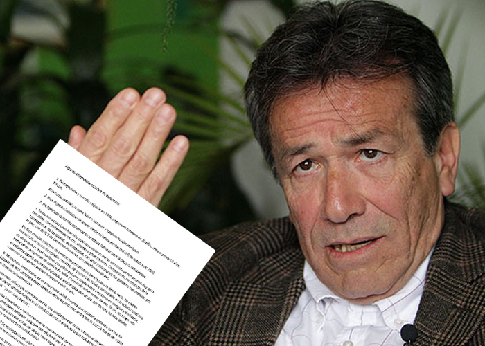 'Mi captura es una mala señal para el Proceso de Paz': Felipe Torres