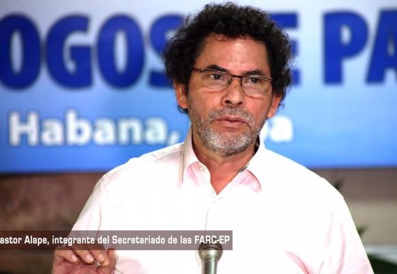 Pastor Alape, negociador en La Habana, toma distancia del frente guerrillero disidente