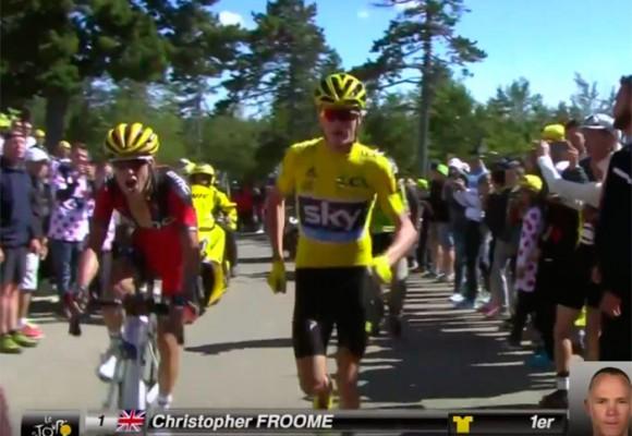 Video: La estrellada de Froome que (ahora) desfavorece a Nairo Quintana en el Tour de Francia