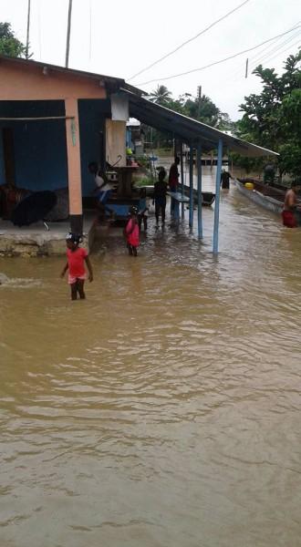 La Loma inundación