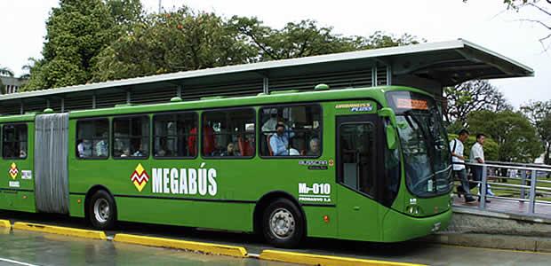 Megabus, Pereira