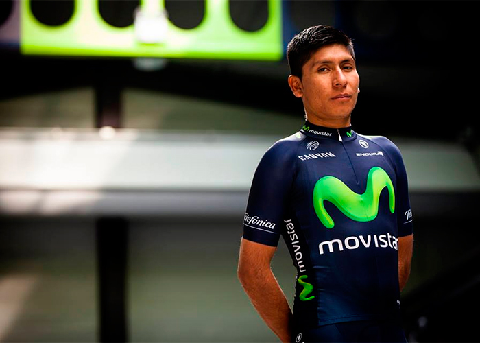 El milagroso uniforme techno de Nairo Quintana