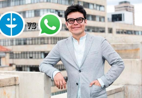 El pastuso que quiere destronar a WhatsApp