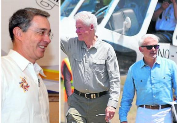 El amigo de Clinton al que Uribe le permitió talar la selva chocoana