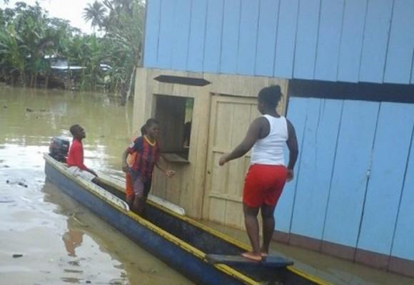 Bojayá en peligro por fuertes lluvias