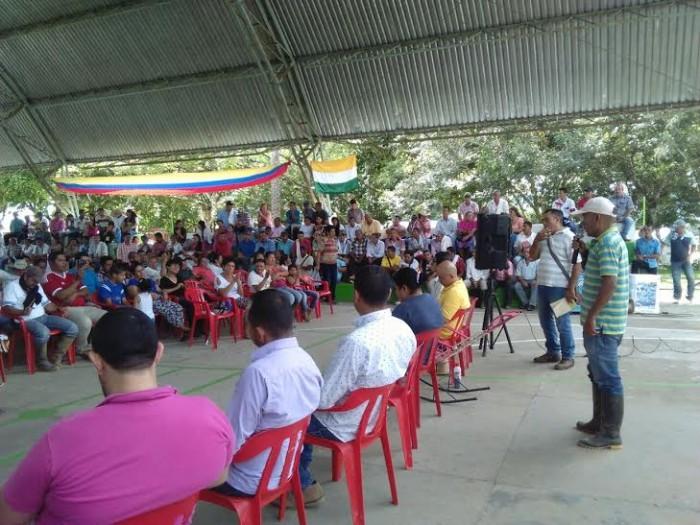 Miles de campesinos de la región se unieron a la voz de protesta de José Antonio Saldarriaga. Foto: selva.com.co