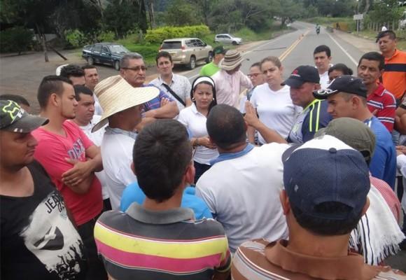 'No' al plebiscito si hay petroleras en el Caquetá
