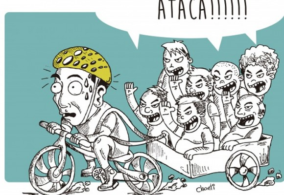 Caricatura: que nuestro apoyo no se convierta en una carga