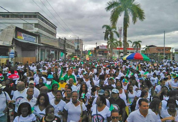 El Chocó protesta por 69 años de abandono
