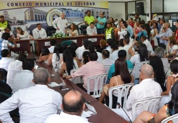 19 concejales de Soledad, Atlántico serían sancionados y destituidos