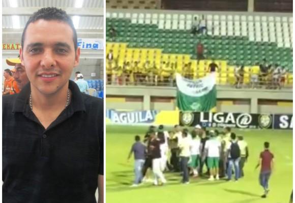 Presidente del Partido de la U en Córdoba le cascó a un árbitro por no pitar un penal