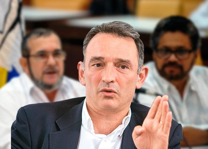Enrique Santiago, el asesor principal de las Farc, destapa las cartas