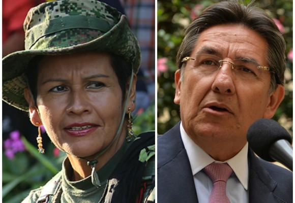 Agria bienvenida de las Farc al Fiscal Néstor Humberto Martínez
