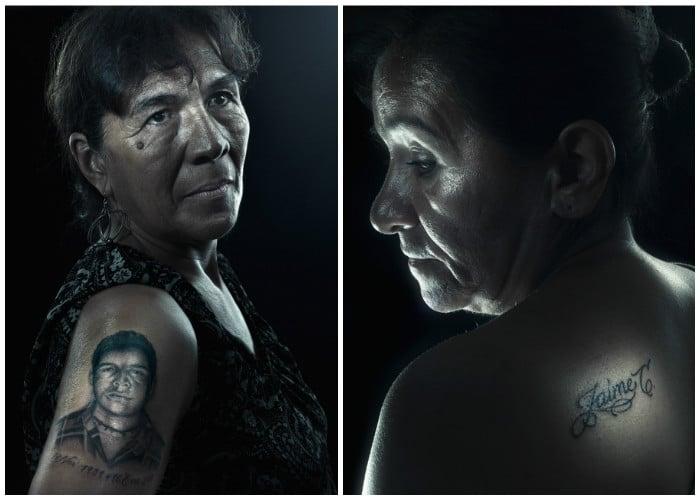 La huella tatuada de quienes fueron asesinados como falsos positivos